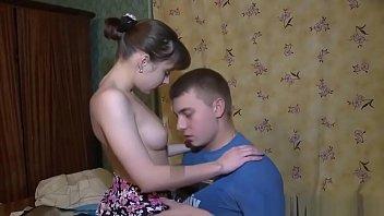 Обычный и анальный секс с брюнеткой с большими сисяндрами