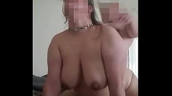Вагинальный трах на порно пробах с пышногрудой брюнеткой в лаковых ботфортах